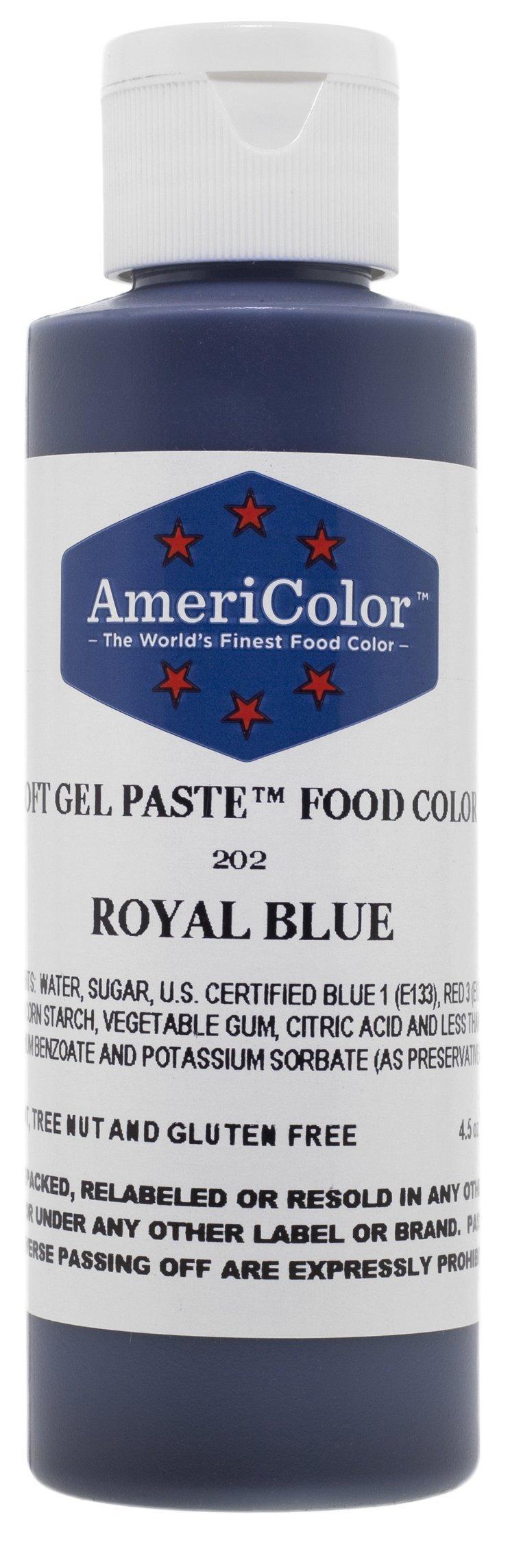 Buy AmeriColor Soft Gel Paste ROYAL BLUE 4.5oz Cake ...