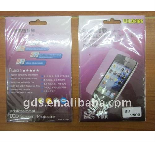 LCD Screen Protector Replacement For Blackberry 9800