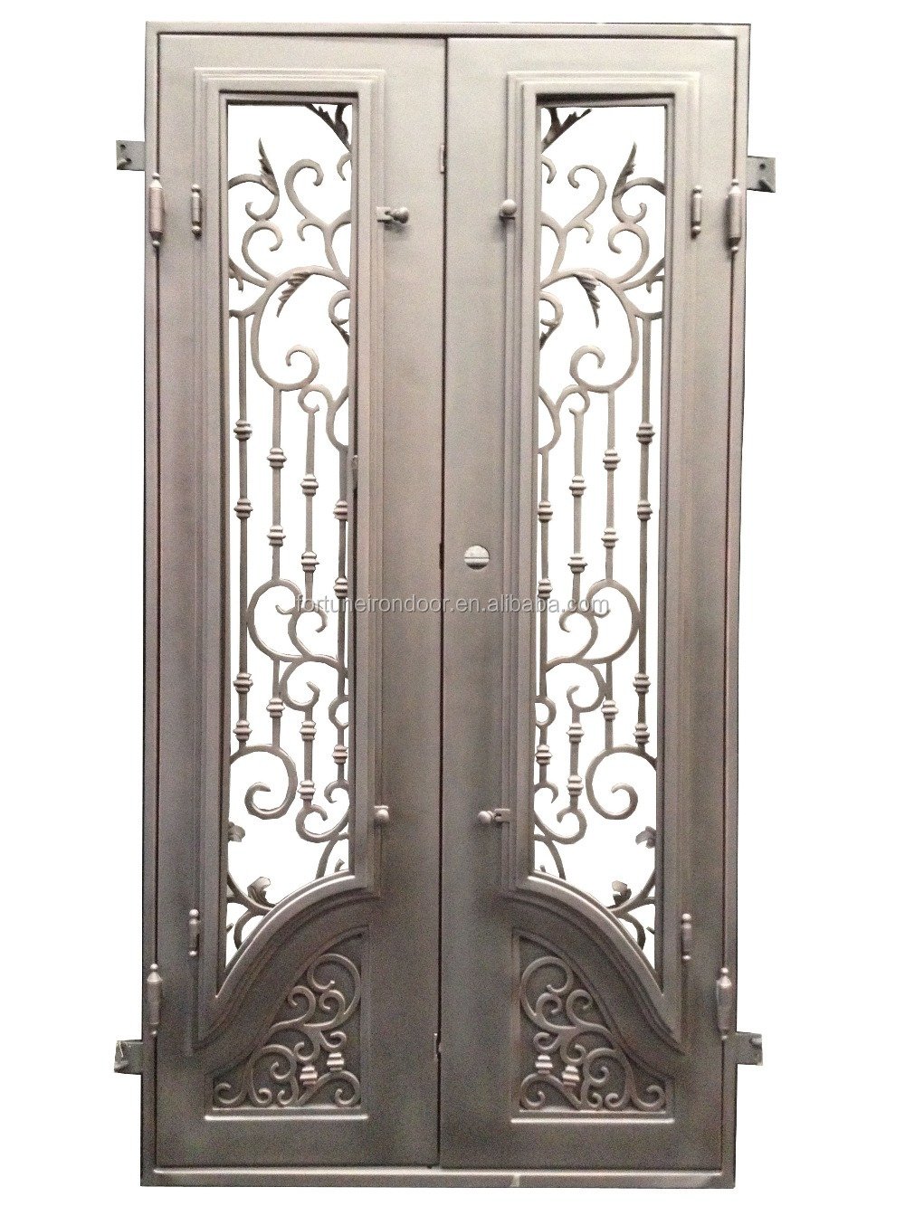 2016 dise o moda en hierro forjado puerta hechos a mano - Colgadores de hierro forjado ...