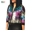 H & D China Factory Lady Clothes Woman Casual Girls Cotton Dresses Sequin Hot Night Dress