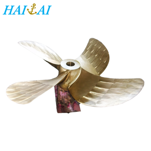 Good price brass propeller for marine propulsion