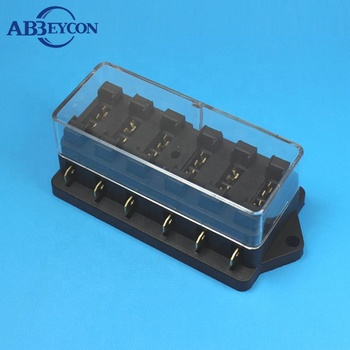 Awesome Standard Blade Fuse Box With Led Fuse Block Holder 6 8 10 12 Way Wiring 101 Akebretraxxcnl