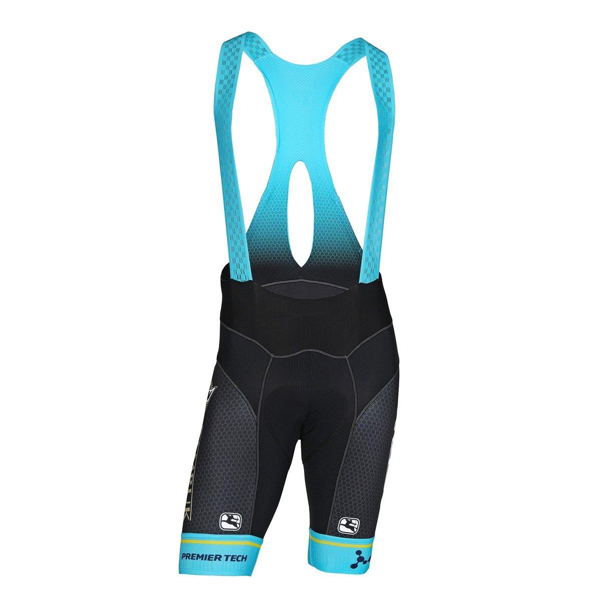 Get Quotations · Giordana 2018 Men s Astana Team FRC Pro Cycling Bib Shorts  - GICS18-BIBS-FRCP 0bed74d8d