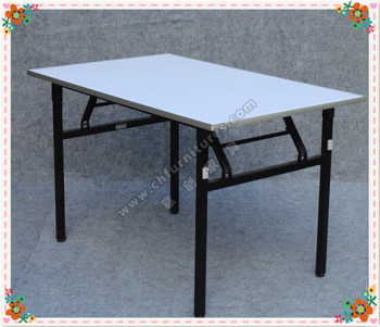 Metal And Plywood Durable Folding Conference Table YC T04 03