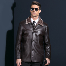 New fashion high quality leather jackets for men