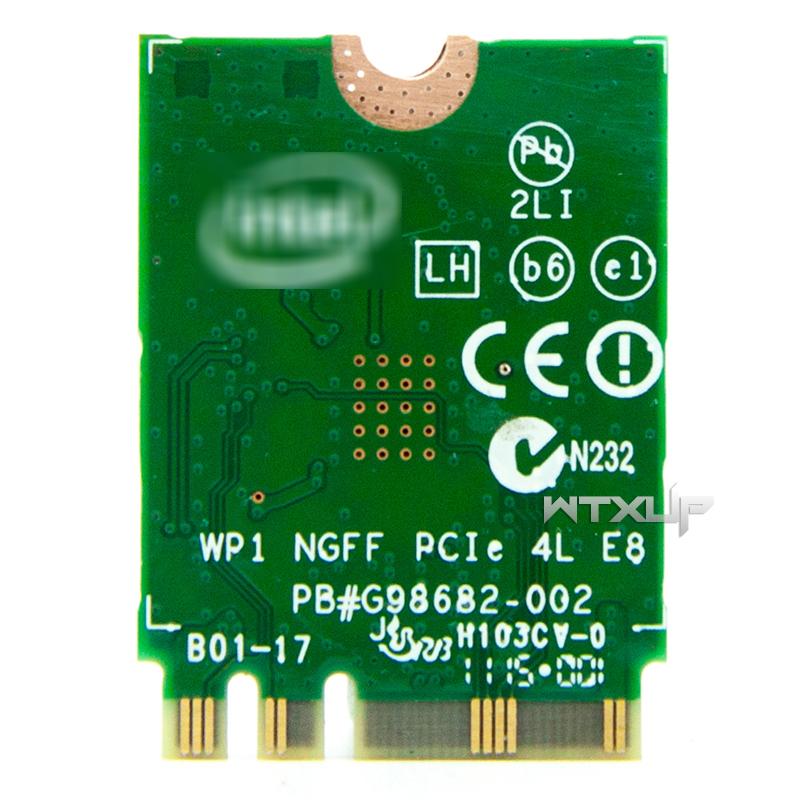 Lenovo Intel AC 3160NGW 2.4//5GHz+Bluetooth4.0 NGFF Card 04X6034