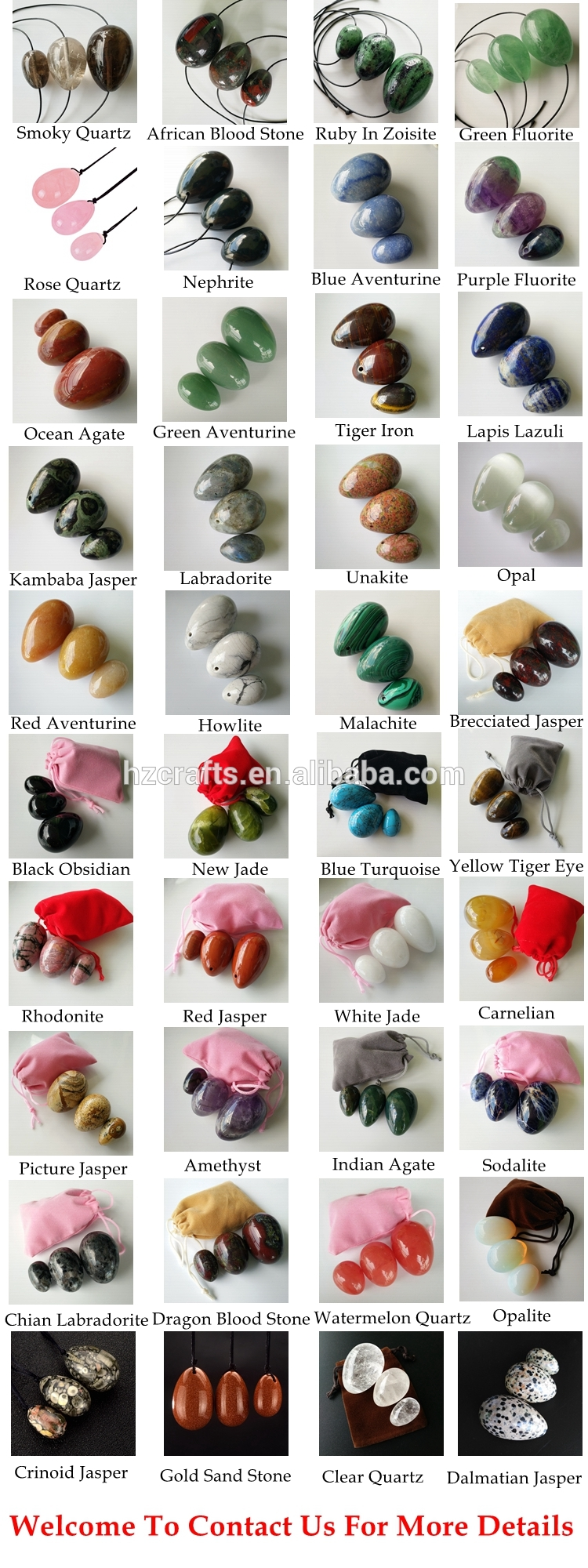 woman Kegel exercise tool lady drilled natural pink nephrite stone eggs toy