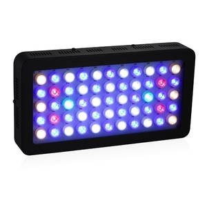 Full Spectrum Dimmable Lighting white blue led coral reef 165W LED Aquarium Light for Reef Coral Fish Tank