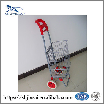 New Products On China Market Colorful Kids Plastic Toy Used Shopping Cart