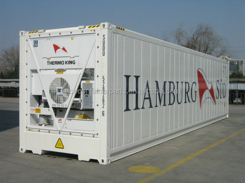 20ft 40ft Reefer Container With Carrier Or Daikin Or