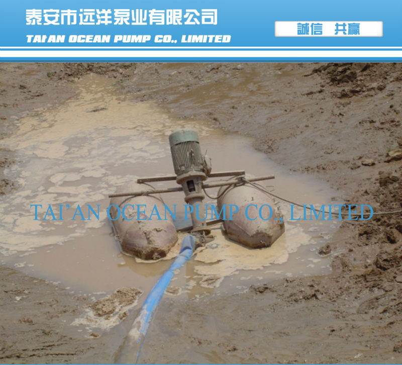Vertical mud pump easy operation and long service time