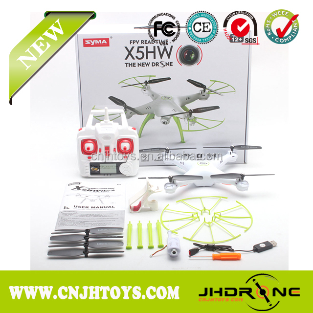 Syma Upgraded WiFi FPV Real-Time RC Quadcopter Drone With Camera SYMA X5HW