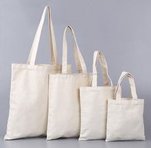 Custom different size 100% cotton fabric make eco friendly reusable grocery cotton bag for butcher's shop
