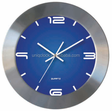 RCC Aluminium wall clock with customized color