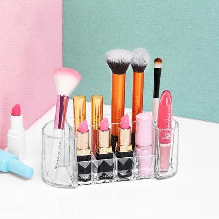 New design transparent acrylic cosmetic storage box / acrylic makeup organizer
