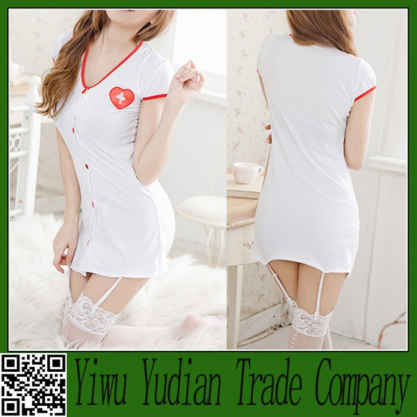 Cheap Wholesale Party Cosplay Costumes Sexy Nurse Uniform Costume