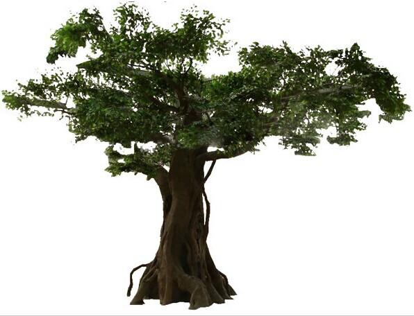 gros artificielle banyan arbres bonsa arbres grand arbre. Black Bedroom Furniture Sets. Home Design Ideas
