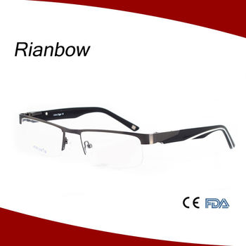 Newest good sale optical frame promotion metal frames spectacle frame e9803ae60ab9
