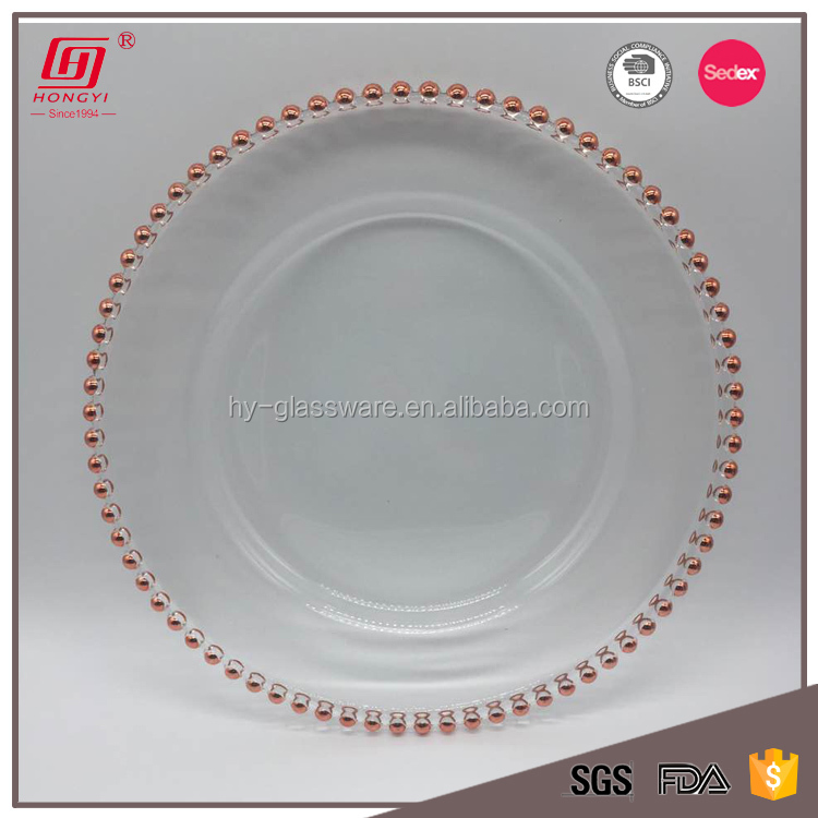 Unique Products 2018 Wedding Table Cheap Bulk Dinner Plates Wholesale Rose  Gold Charger Plates