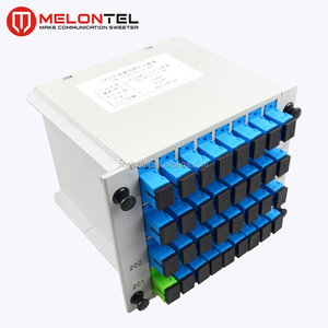 MT-1081-32A Fully Stocked Cassette Insert 1*32 Type Splitter For Fiber Optic Internet With SC Adaptor