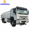 Sinotruk Howo 20000 Liters 6000 Gallon Diesel Oil Transporter Capacity Fuel Tank Tanker Truck For Sale
