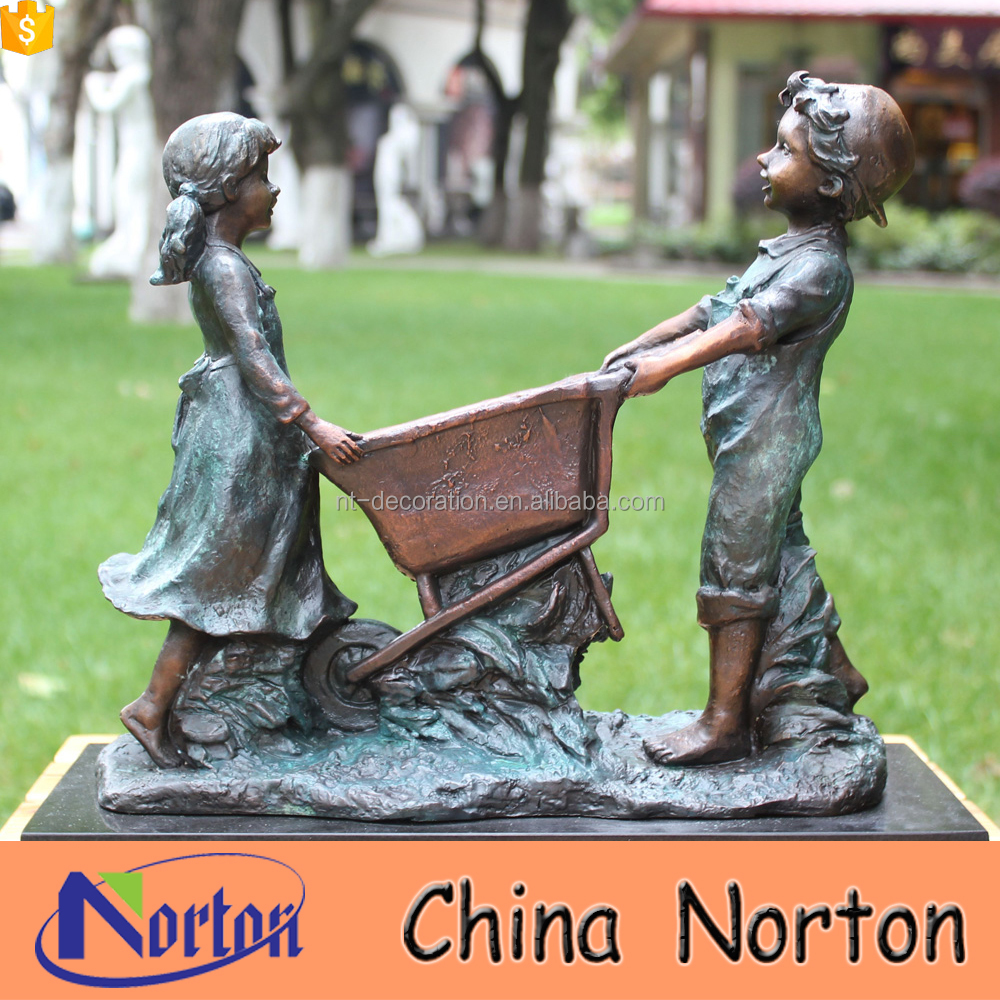 Bronze Garden Statues Children Bronze Garden Statues Children