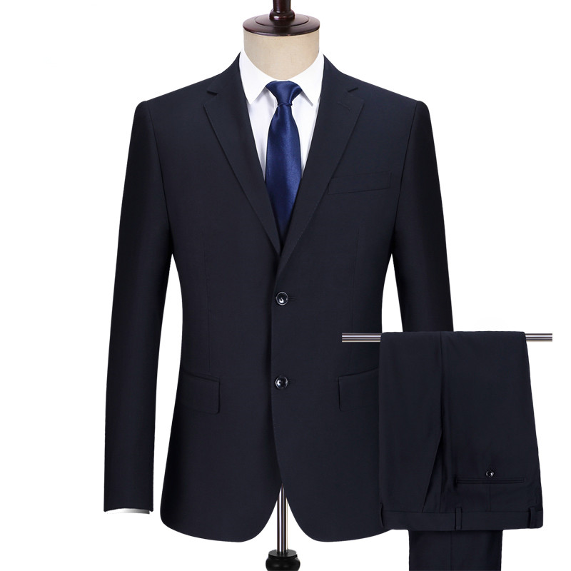 Wholesale quality cheap in stock regular fit <strong>formal</strong> office men black business <strong>suit</strong>