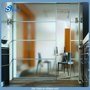 Stals New Product Modern Interior Aluminum Frameless Dining Room