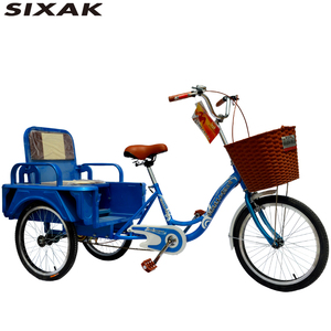 China manufacturer elderly tricycle 20 inch Adult cargo tricycle