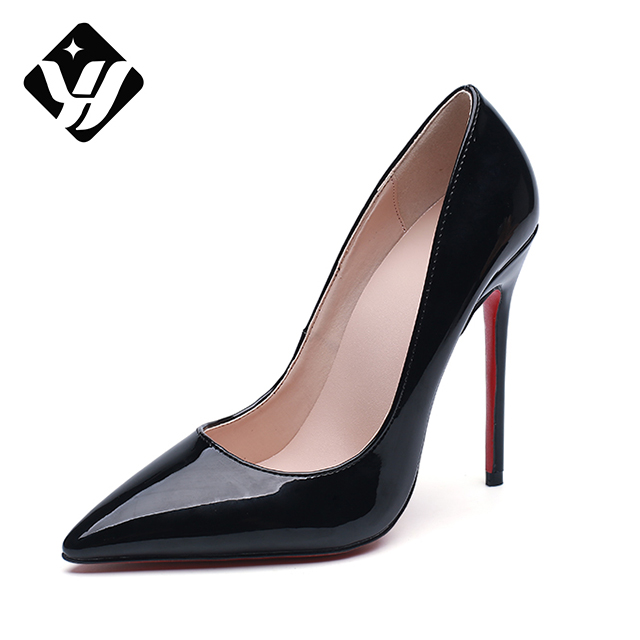 Italian Shoes 12cm <strong>heeled</strong> Women Back Sexy Pointed toe High <strong>Heels</strong>