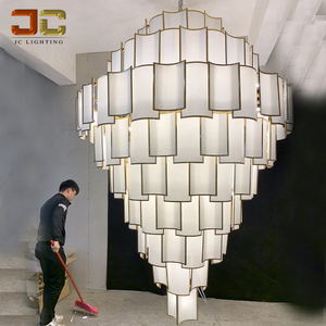 Customized project lighting hotel clubhouse chandelier room lamps designer favorite design