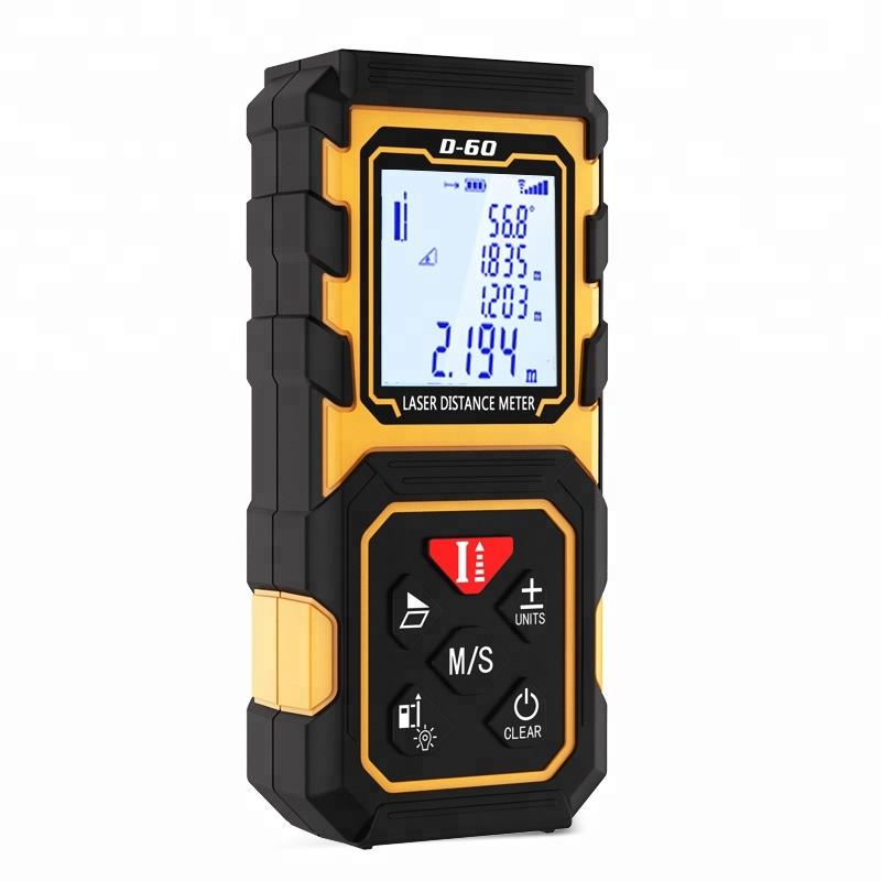 Mini digital laser-distanzmessgerät 40 mt, 60 mt, 80 mt, 100 mt laser-entfernungsmesser