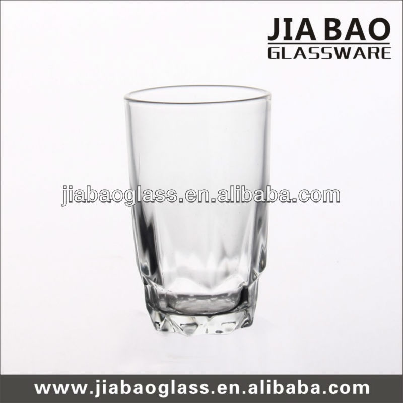 Jim beam whisky glass tumbler,clear drinking glass tumbler