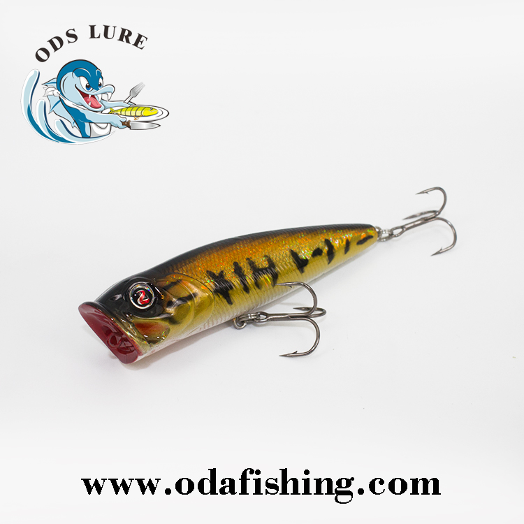 130mm Hand Painted Wooden Popper Fishing Lures Buy Artificial Lureswood Fishing Lurewooden Lures Product On Alibabacom