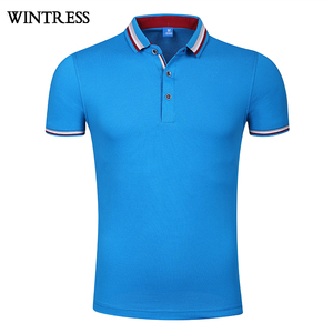 Wholesale price printed pique polo shirt, two color polyester polo shirts for men custom 100% cotton new design polo t shirt