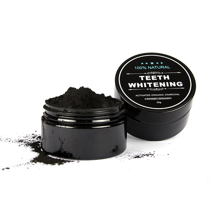 Custom label china supplier activated charcoal teeth whitening Natural Black Coconut Carbon charcoal powder