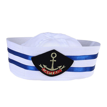 Embroidered Sailor Hat - Buy Sailor Cap ad4c4524681