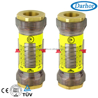 EV water flow measuring devices,plastic gases rotameter,inline gas flow meter