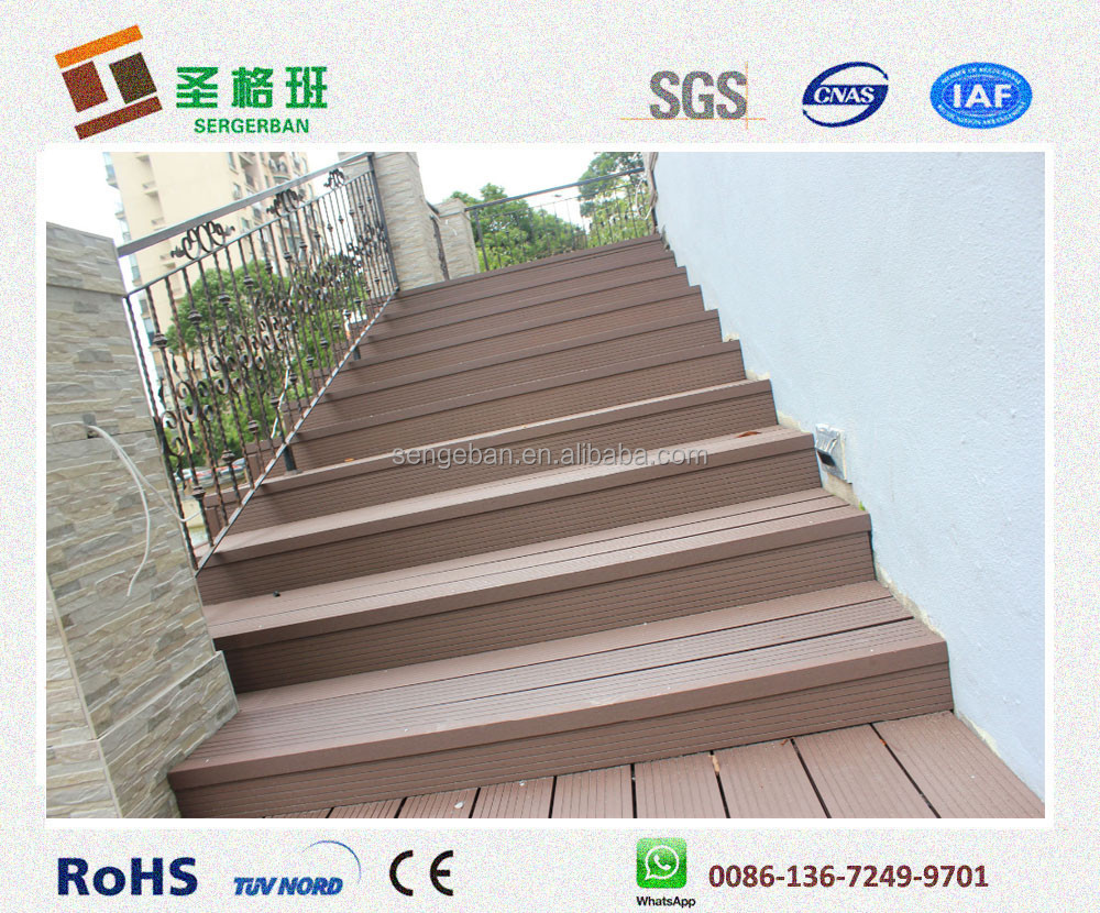 Wood Deck Stairs, Wood Deck Stairs Suppliers And Manufacturers At  Alibaba.com