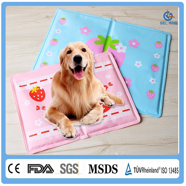 Shanghai Gelking Pet Products Online Shopping Cute Cooling Gel Heated Pet Bed /Pet Mat
