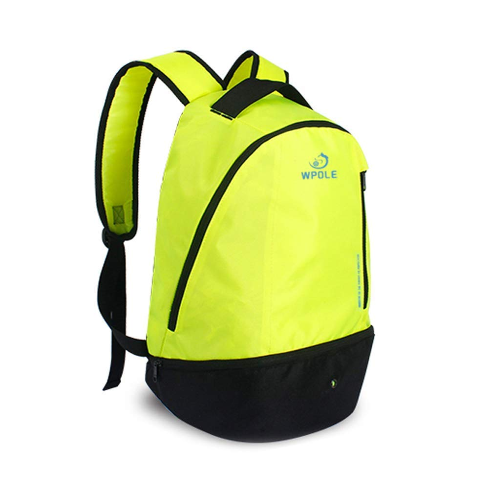 Get Quotations · GUCHIS Basketball Backpack Youth Soccer Bag with Ball  Compartment Sports Bags Outdoor Sports Basketball Backpack Travel 4eb88e3523933