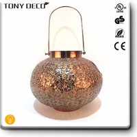 Custom Chinese Metal Sconce Wall Hanging Iron Candle Holder