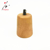 Edison Bulb Style Lamp holder Modern Design Wood Lampholder Decorative Bulb Base E27