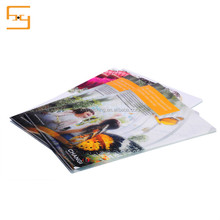 Promotional Plastic A4 L Shape PP file Folder with Printing Logo
