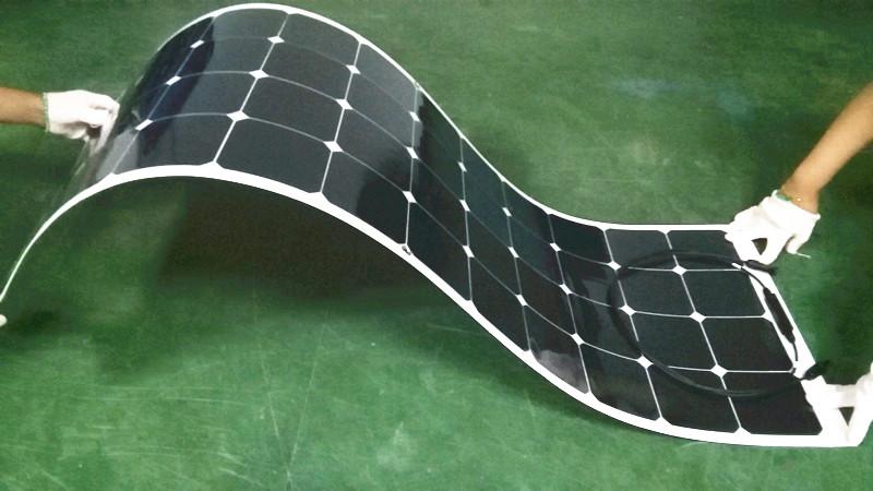 Solar Panel 200w Pole Mounting System High Efficiency