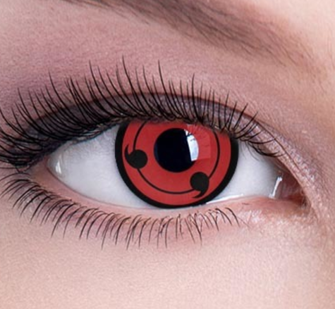 wholesale yearly Anime halloween contact eye lenses cosplay sharingan contact lens crazy lenses