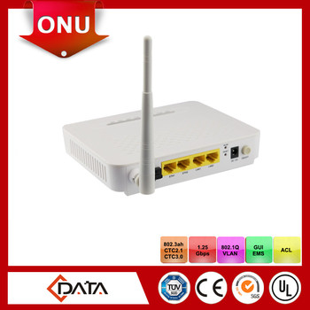 fiber optic terminal equipment wifi onu epon with 4FE ports
