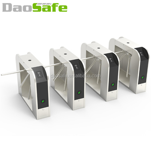 DaoSafe Fingerprint Turnstile With ZK Technology Tripod Waist Security Gates For Schools