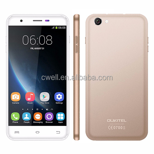 OUKITEL U7 PRO 5.5 Inch MTK6580 Quad Core smartphone android 5.1 mobile