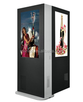 2017 hot new products led floor stand advertising screen with free software
